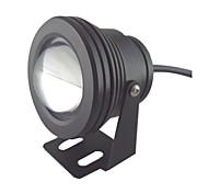 10w 1 LED IP68 blanco impermeable al aire libre llevó el bulbo de la lámpara bajo el agua (12v)