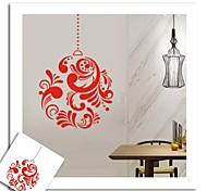 zooyoo® bonito pvc estilo china vermelho removível colorida de adesivos de parede adesivos de parede de venda quente para a decoração da