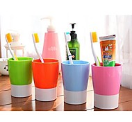 Multifunctional Candy Color Toothbrush Cup  (Random Color)