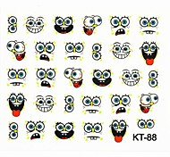 3D False Nail Art Sticker Decals Nail Accessory Lovely Cartoon Pattern for Acrylic Nail Tips DIY Nail Art Decoration88