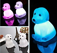 Coway Creative Romantic Gift Dog Colorful LED Nightlight