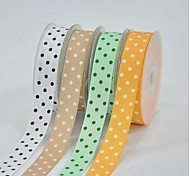 7/8 Inch Polyester Rib Belt Printing Ink Dot Three Oblique Dot Ribbon- 25 Yards Per Roll (More Colors)