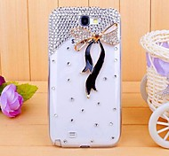 Diamond Ribbon Back Cover Case for SAMSUNG GALAXY Note 2 N7100