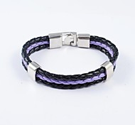 Fashion Women's Assorted Colors PU Leather Bracelets
