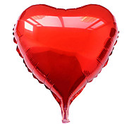 18 Inch Blue Heart Aluminium Membrane Valentine's Day Party Balloon