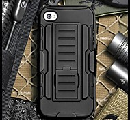 iPhone 7 Plus Drop Resistance Armor Protective Jacket with Stand and Clip for iPhone 5/5S