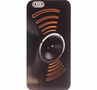 estojo design de som para iphone 6