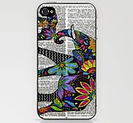 Aztec Elephant in Newspaper Case for iPhone 4/4S