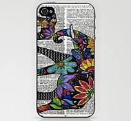 elefante aztec in caso di giornale per iphone 4 / 4s