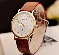 diamante orologi delle donne di modo conciso (colori assortiti)