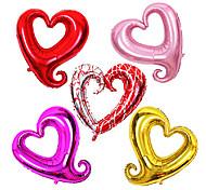 36 pollici giornata festa di compleanno palloncino di san valentino membrana di alluminio cuore