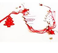Weihnachtshänger Baumform lang 1 MDF materiels für Weihnachtsdekorationen