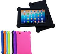 "High Quality Silicone Rubber Gel Skin Case Cover for Lenovo IdeaTab S5000 7"" Tablet PC"
