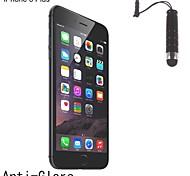 protetor anti-reflexo tela fosca de acabamento com caneta de toque para o iphone 6 mais