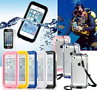 Perfect Designed Cool All-around Waterproof Hard Case with Cleaning Cloth for iPhone (Assorted Colors)