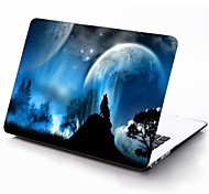 Wild Wolf Design Full-Body Protective Plastic Case for 11-inch/13-inch New MacBook Air