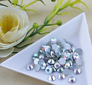 3-3.2mm Boutique (Bright) Flat Back Rhinestones (Phone Beauty Accessories) Nail bedazzle 100 pieces of beads in bag
