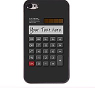 Personalized Gift Calculator Design Metal Case for iPhone 4/4S
