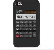 персональный подарок калькулятор дизайн корпуса металл для iPhone 4 / 4s