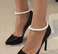 Women's All Handmade Pearl Anklet