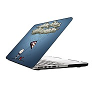 Lovely Cartoon Design Full-Body Protective Plastic Case for 13-inch/15-inch MacBook-Pro with Retina Display