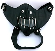 Tokyo Ghoul Sewn Mouth Black Cosplay Mask