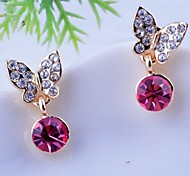 Love Is You Exquisite Fashion Bowknot High-end Stud Earrings