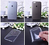 Solid Color Ultra Thin TPU Soft Case for iPhone 6 Plus(Assorted Colors)