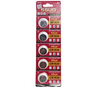 CR1620 3V Lithium Watch Battery 5PCS