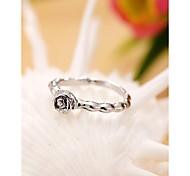 Fashion Korea Flower Alloy Ring Jewelry Gift