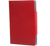 Universale tablet cuoio dell'unità di elaborazione caso folio corpo pieno da 9 pollici con (colori assortiti)