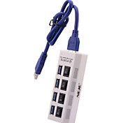 NEJE 4-Port USB 3.0 Super Hub with Switch