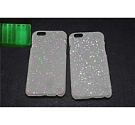 Dot Print Glow-in-the-Dark Plastic Case for iPhone 6