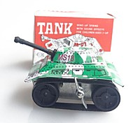 Tin Tank Wind-Up Toys for Collection