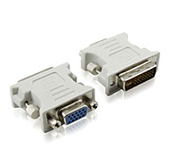 0.1M 0.328FT DVI(24+5) Male to VGA Female Connector
