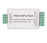 3A 3-Channel Mini RGB LED Amplifier Controller for RGB LED Strip Light  (DC 5-24V)