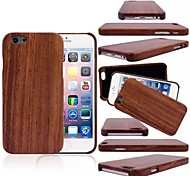 Pure Color pattern Protective Bamboo Back Cover for iPhone 6(Assorted Colors)