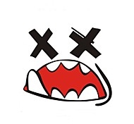 Funny Graffiti Mouth Reflective Car Stickers