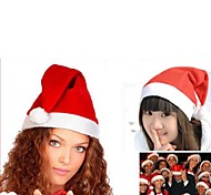 Practical Cute Textile  Christmas Hat 6Pcs