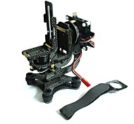 2 assi in fibra di carbonio fotocamera brushless giunto cardanico per montaggio in rack FPV montaggio PTZ per eroe GoPro 3 DJI phantom combo