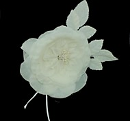 Fabric Headpiece - Wedding/Special Occasion/Outdoor Flowers