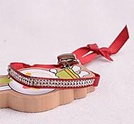 Korea Style Double Row Velvet Crystal Bracelet
