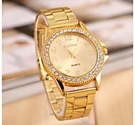 Women's  Fashion Rome Calibration Rhinestones Steel Belt Watch Cool Watches Unique Watches
