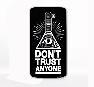 Eyes Pattern Hard Case for LG G2