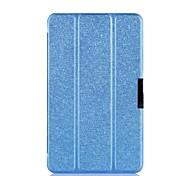 "dengpin® PU-Leder Seide Textur tri-fach Foliostandplatz Fallabdeckung für asus Notizblock 8 me181c 8 ""Tablet"