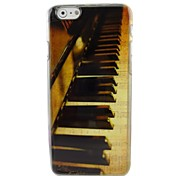 Beautiful Piano Plastic Hard Back Cover for iPhone 6 Plus