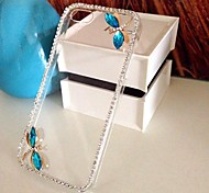 LUXURY Diamond Dragonfly Back Cover Case for iPhone 5C