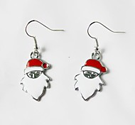 Santa Claus Christmas Gift Earrings