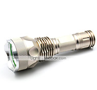LT-xd8016 New Design 5 Modes 1xCree XML T6 Led Flashlight(1000LM.1x26650/4xAAA.Golden)
