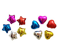 25 Inches Star Heart Aluminium Membrane Baby Shower Birthday Party Balloon(11 PCS One Set)